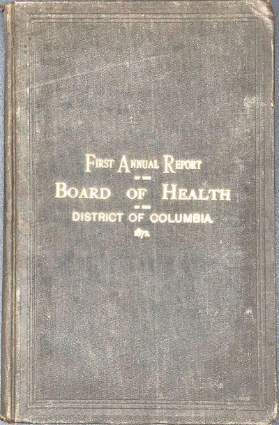 Washington, DC: Gibson Brothers, Printers, 1873. First edition. 8vo. 198 pp., plus errata sheet. Bou...