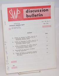 image of SWP discussion bulletin, vol. 22, no. 9 (May, 1961)