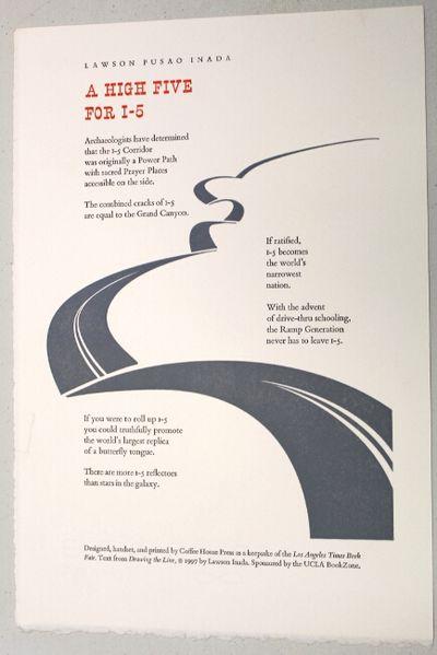 : Coffee House Press, 1997. 7.5