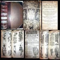 1640 THEATRUM BOTANICUM THEATRE OF PLANTS JOHN PARKINSON 1ST EDITION & ONLY EDITION 2,700 ILLUSTRATIONS 3800 PLANTS APOTHECARY HERBAL FOLIO LEATHER