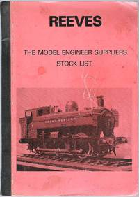 image of Reeves. The Model Engineer Suppliers. Stock List