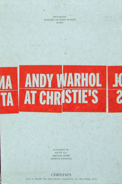 New York: Christie's, 2012. First edition. Paperback. Fine. Folios. Three tall paperbound volumes. 1...