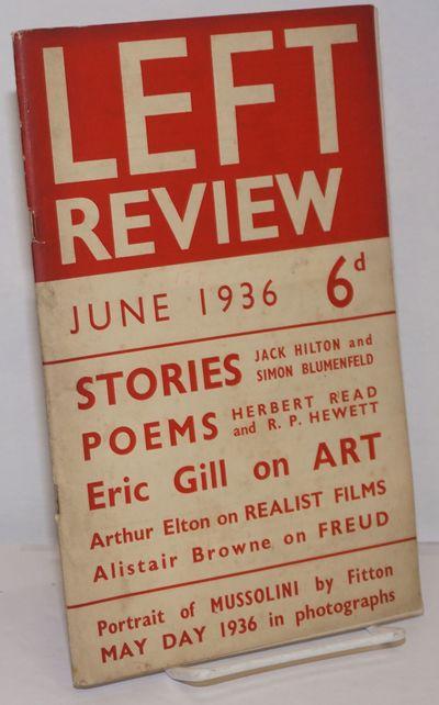 London: T.H. Wintringham, 1936. pp. 418-480, single issue of the staplebound journal, illus.; wraps ...
