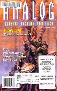 Analog: Science Fiction/Science Fact (Vol. CXXII, No. 12, December 2002)
