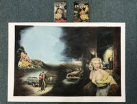 """ORIGINAL COLOR PAINTING FOR CHARLES WILLEFORD'S 1955 PAPERBACK ORIGINAL TITLE """"PICK-UP"""" by  CHARLES [AUTHOR]. FRANK UPPWALL [ARTWORK] WILLEFORD - Paperback - Signed First Edition - 1953 - from BUCKINGHAM BOOKS (SKU: 42288)"""