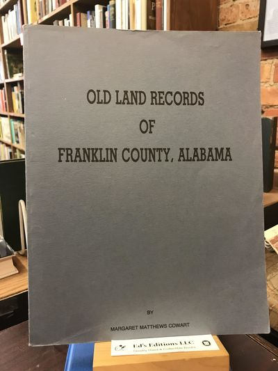 Alabama: Privately Printed, 1986. PAPERBACK. Good. Grey paperback. 1986. Clean, has a good binding, ...