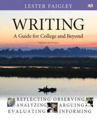 image of Writing: A Guide for College and Beyond (3rd Edition)