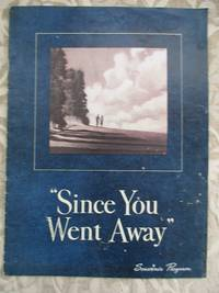 """image of """"Since You Went Away"""" Souvenir Program for the David O. Selznick Production"""