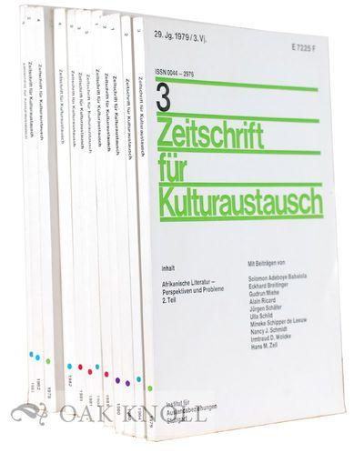 Stuttgart: Institut für Auslandsbeziehungen, 1984. stiff paper wrappers. small 8vo. stiff paper wra...