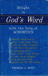 Delight in God's Word with the Help of Acrostics
