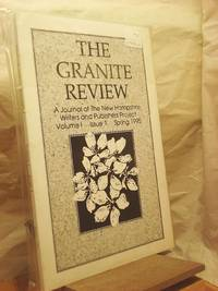 The Granite Review: A Journal of the New Hampshire Writers and Publishers Project, Vol. 1 Issue 1 Spring 1995