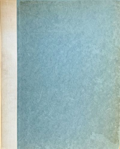 Bristol: Douglas Cleverdon, 1929. Hardcover. Orig. quarter cream spine and blue/gray boards. Very go...