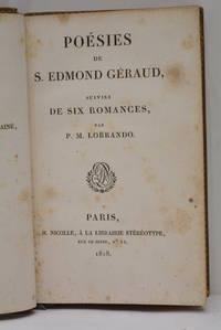 Poésies. Suivies de six romances, par P. M. Lorrando.