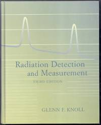 Radiation Detection and Measurement. Third Edition