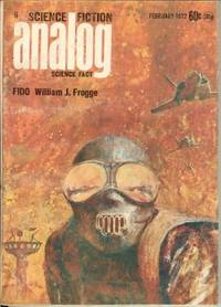 """image of ANALOG Science Fiction/ Science Fact: February, Feb. 1972 (""""A Spaceship for the King"""")"""