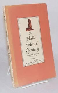 image of The Florida Historical Quarterly Vol. XXXIX No.3, January 1961