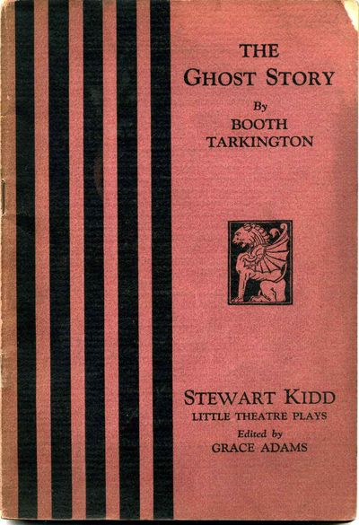 Cincinnati: Stewart Kidd Company, 1922. Book. Very good- condition. Paperback. First Edition. Octavo...