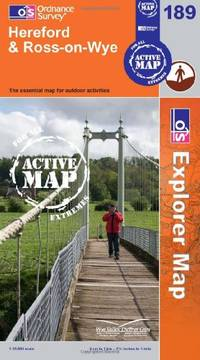 Hereford and Ross-on-Wye (OS Explorer Map Active) by Ordnance Survey - Paperback - from World of Books Ltd and Biblio.com