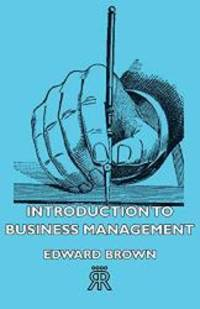 image of Introduction to Business Management