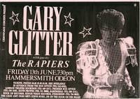 Camouflage Present Gary Glitter with guests The Rapiers (Original Music Poster)