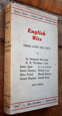 ENGLISH WITS Their Lives And Jests