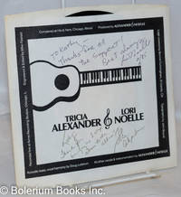 image of Tricia Alexander & Lori Noelle [45rpm vinyl record] Side A: Woodstock by Joni Mitchell; Side B: Here We Go Again by Alexander & Noelle [inscribed & signed by both artists]