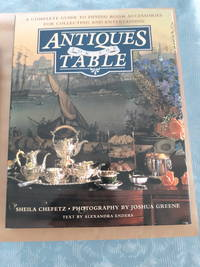 image of Antiques for the Table