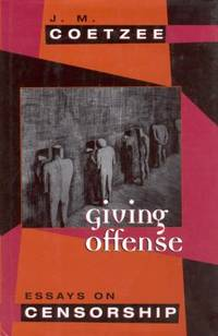 image of Giving Offense : Essays on Censorship