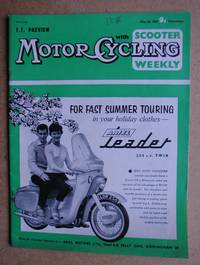 image of Motor Cycling with Scooter Weekly. May 28, 1959.