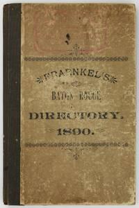 Fraenkel's Baton Rouge Directory for 1890