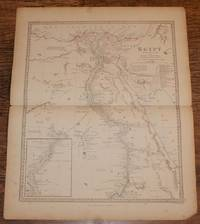 "Map of Africa - disbound sheet from 1857 ""University Atlas"