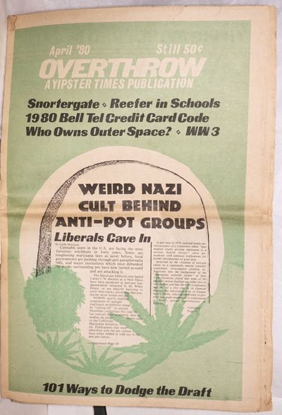 New York: Youth International Party Information Service, 1980. 31p., tabloid format newspaper, evenl...