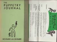 image of PUPPETRY JOURNAL, Volume XIV, No. 3, with two inserts, The.