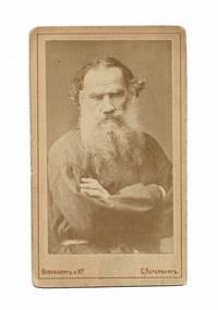 Original photograph of Leo Tolstoy