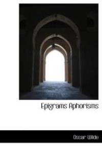 image of Epigrams Aphorisms