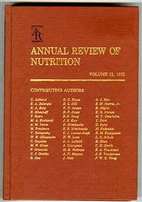 Annual Review of Nutrition: 1992