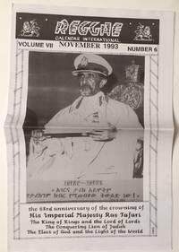 image of Reggae calendar international. Vol. 7 no. 6 (November 1993)