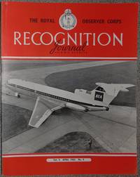 The Royal Observer Corps Recognition Journal April 1962 Vol 4 No 4