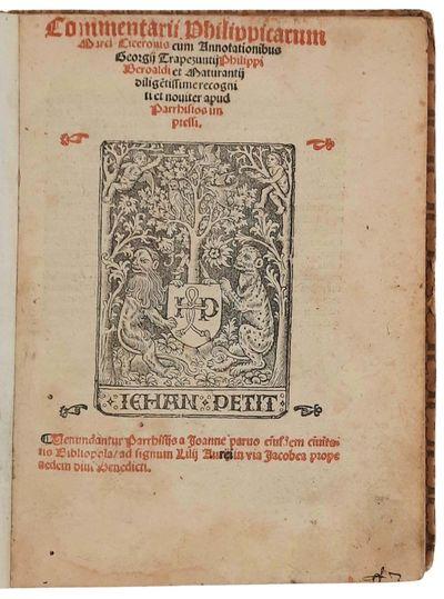 Commentarii Philippicarum Marci...