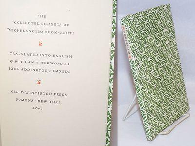 Pomona: Kelly-Winterton Press, 2005. Paperback. 115p., very good limited edition of 150 copies print...