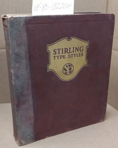 New York: The Stirling Press, 1920. Hardcover. Large Octavo; Fair; sun faded burgundy spine with gil...