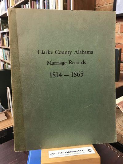 Alabama: Northeast Alabama Genealogocal Society, 1964. PAPERBACK. Good. 1964. Green paperback. Clean...