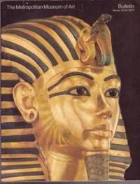Tutankhamun, Entrance Passage and Antechamber / The Metropolitan Museum of Art Bulletin