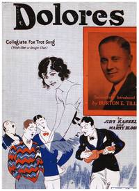 image of 1920s MUSIC x 3: PAGAN LOVE SONG, DOLORES, DADDY WON'T YOU PLEASE COME HOME