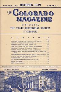 The Colorado Magazine: October 1949