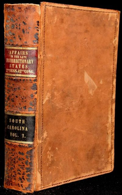 Washington: Government Printing Office, 1872. First Edition. Good binding. The boards are starting t...