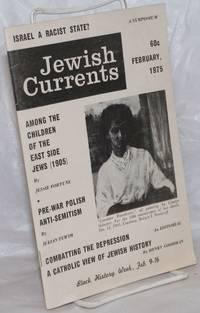 image of Jewish Currents; vol 29, no. 2 (316), Feb. 1975