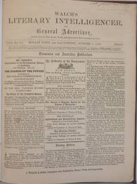 Walch's Literary Intelligencer, and General Advertiser : three issues from 1859, 1862 &...
