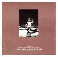 Christian Boltanski [31 March-30 June 1996]