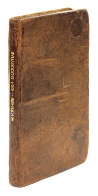 Idea Eloquentiae Forensis Hodiernae: Una cum Actione Forensi ex.. by  Sir George Mackenzie  - First edition  - 1681  - from The Lawbook Exchange Ltd (SKU: 67334)